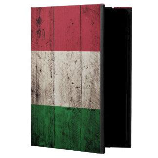 Italy Flag on Old Wood Grain Powis iPad Air 2 Case