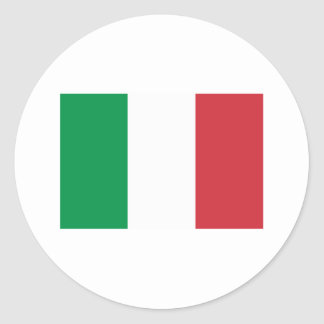 Italy Flag Products Round Sticker
