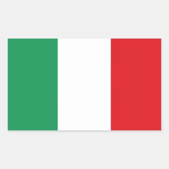 Italy* Flag Sticker Adesivo bandiera de Italia