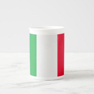 Italy Flag Tea Cup