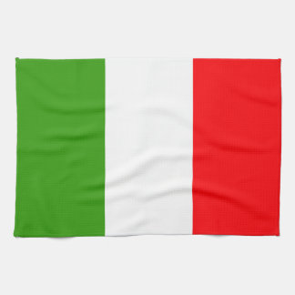 Italy Flag Tea Towel