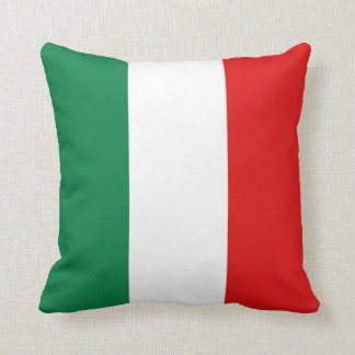 Italy Flag x Flag Pillow