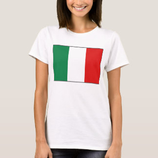 Italy Flag x Map T-Shirt
