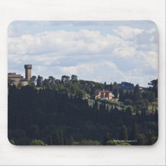 Italy, Florence, Castle on hilltop 2 Mouse Pad