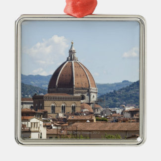 Italy, Florence, Cityscape with Duomo Christmas Ornament