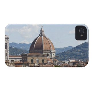 Italy, Florence, Cityscape with Duomo iPhone 4 Case-Mate Case