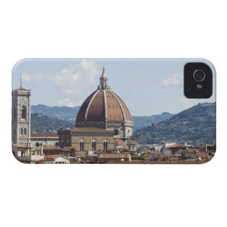 Italy, Florence, Cityscape with Duomo iPhone 4 Case-Mate Cases