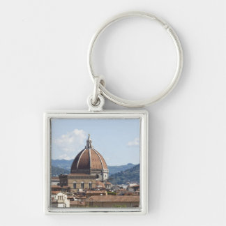 Italy, Florence, Cityscape with Duomo Keychain