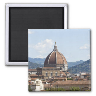 Italy, Florence, Cityscape with Duomo Magnet