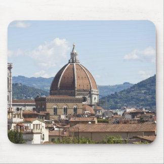 Italy, Florence, Cityscape with Duomo Mouse Mat