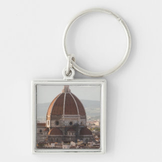 Italy, Florence, Dome of Duomo cathedral Key Ring
