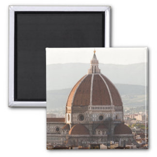 Italy, Florence, Dome of Duomo cathedral Square Magnet