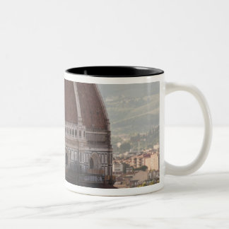 Italy, Florence, Dome of Duomo cathedral Two-Tone Coffee Mug