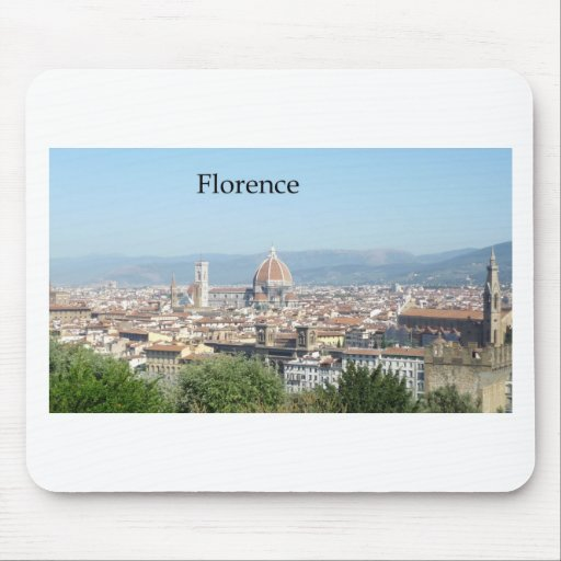 Italy Florence Duomo (St.K) Mouse Pad