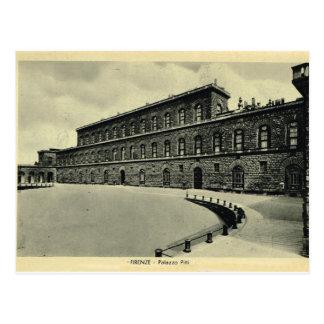 Italy, Florence, Firenze, Palazzo Pitti 1908 Postcard