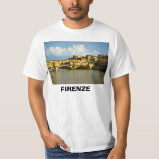 Italy, Florence, Firenze, Ponte Vecchio T-Shirt