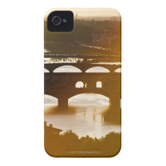 Italy, Florence, Ponte Vecchio and River Arno at iPhone 4 Covers