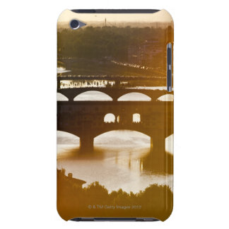 Italy, Florence, Ponte Vecchio and River Arno at iPod Case-Mate Cases