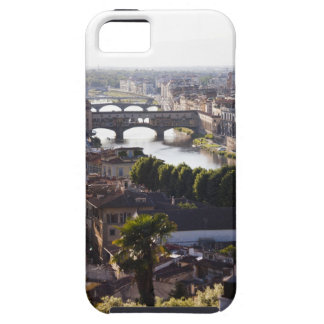 Italy, Florence, Ponte Vecchio and River Arno iPhone 5 Covers