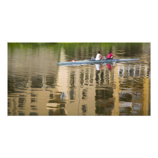 Italy, Florence, Rowing Sculls with 2 Photo Print