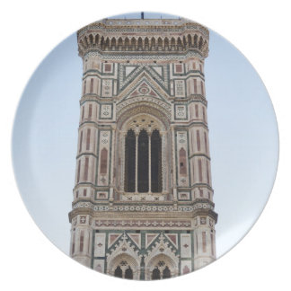 Italy, Florence, Tower in old town Party Plate