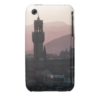 Italy, Florence, Towers in city at dusk 2 iPhone 3 Cover