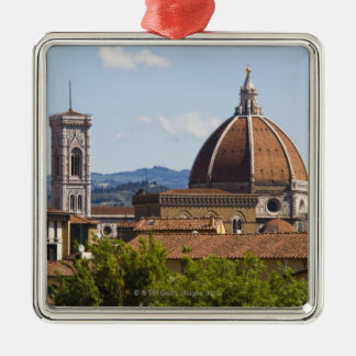 Italy, Florence, View of Florence Cathedral Christmas Ornament