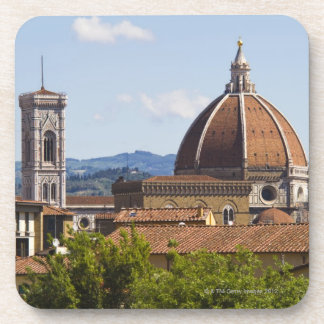 Italy, Florence, View of Florence Cathedral Coaster