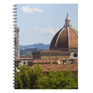 Italy, Florence, View of Florence Cathedral Notebook