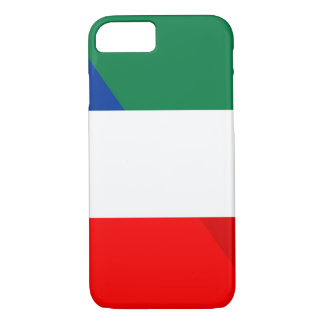 italy france flag country half symbol iPhone 8/7 case