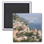 Italy Fridge Magnet Compania Positano Change Year