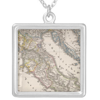 Italy from 1270 to 1450 silver plated necklace