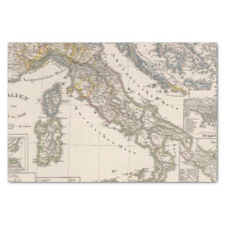Italy from 1270 to 1450 tissue paper