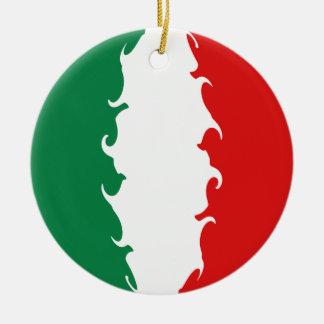 Italy Gnarly Flag Ornament