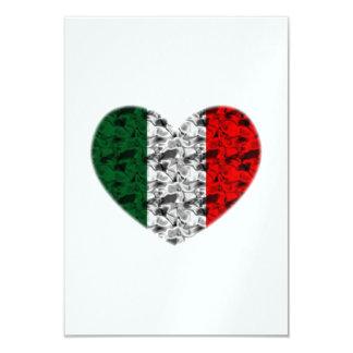 Italy Heart Card