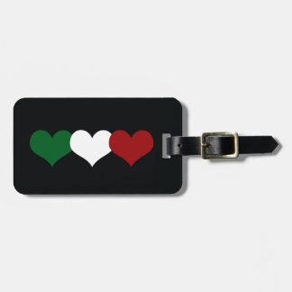 Italy Heart Luggage Tag