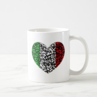 Italy Heart Coffee Mugs