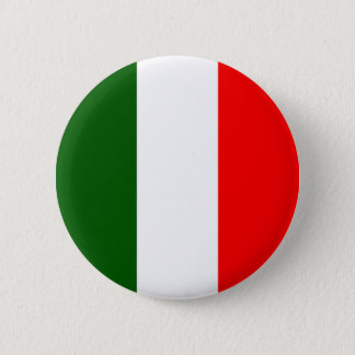 Italy High quality Flag 6 Cm Round Badge