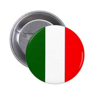 Italy High quality Flag Pinback Buttons