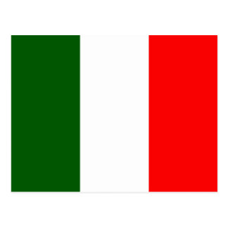 Italy High quality Flag Postcard