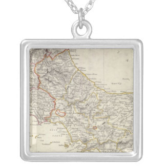 Italy II Silver Plated Necklace