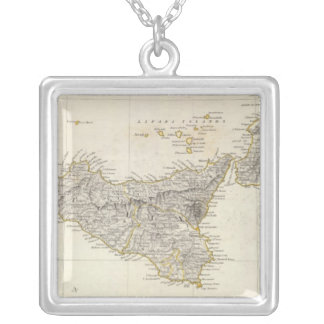 Italy III Silver Plated Necklace