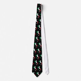 Italy in Italian Colors Tiled Tie