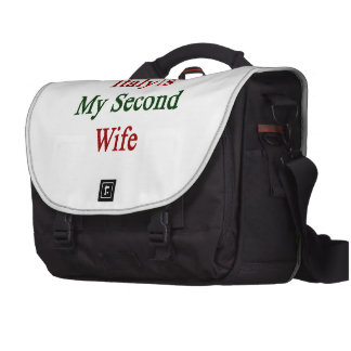 Italy Is My Second Wife Computer Bag