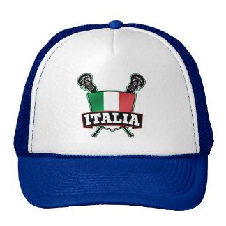 Italy Italia Lacrosse Cap