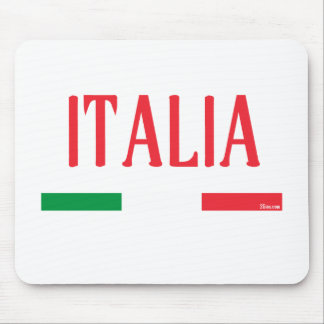 ITALY Italia RED Mouse Pad