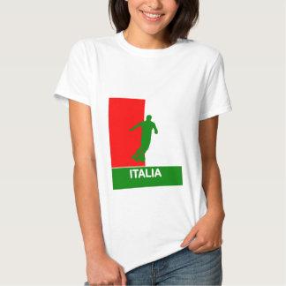 Italy Italia Soccer 2010 Baby Doll Shirt