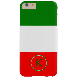 Italy Italian Flag Design with your Name Barely There iPhone 6 Plus Case