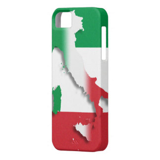 Italy Italian Flag iPhone 5 Case-Mate Barely There Case For The iPhone 5
