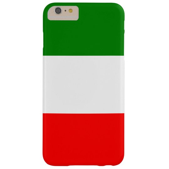 Italy Italian Italia Flag Tricolore Design Barely There iPhone 6 Plus Case